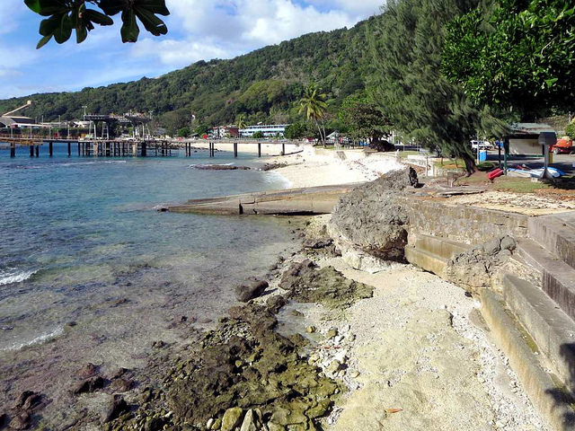 Picture of Flying Fish Cove, Christmas Islands State, Christmas Island