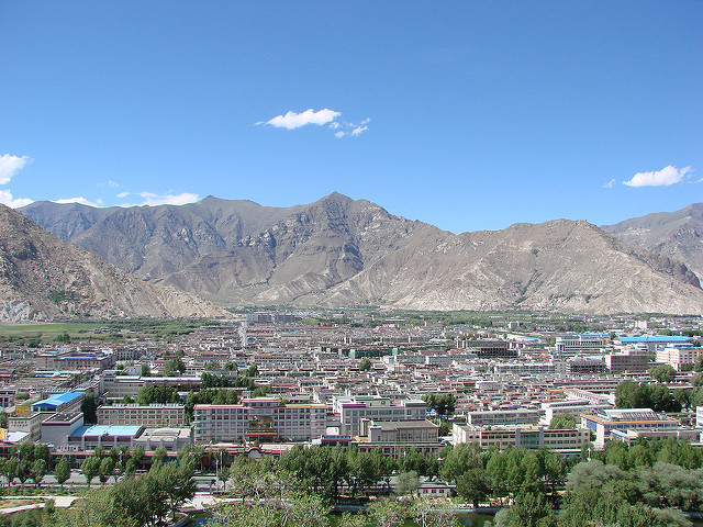 Picture of Lhasa, Tibet Autonomous Region, China